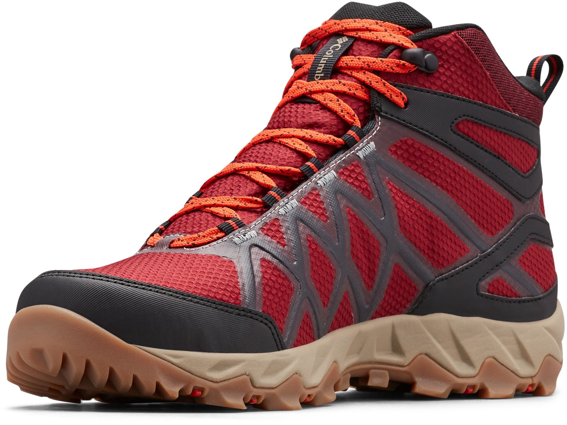 Columbia Peakfreak X2 Chaussures Outdry Homme, red jaspersuper sonic